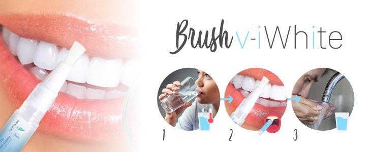Brush v-iWhite el pincel blanqueador