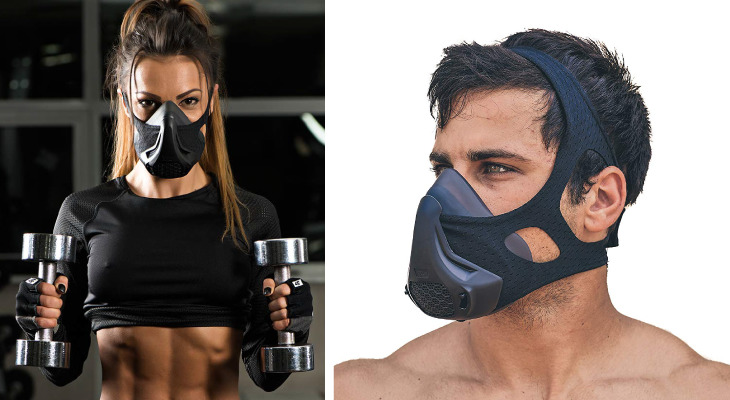 Safe Training Mask: Specially designed for exercise.