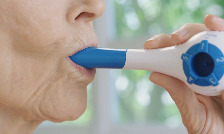 A new and innovating breathing training device is finally here!